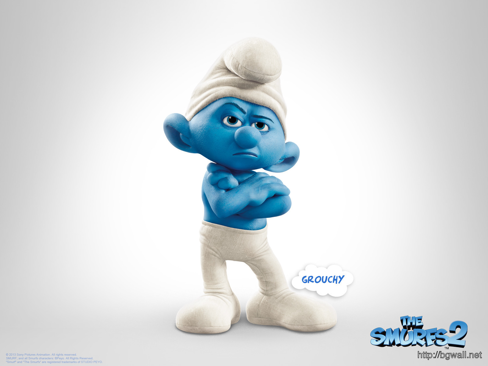 George Lopez Grouchy In The Smurfs 2 Wallpaper Full Size
