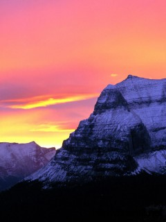 Glacier National Park At Sunset Wallpaper 12715 Full Size