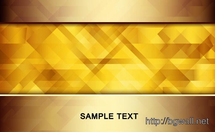 Golden Vector Background Full Size