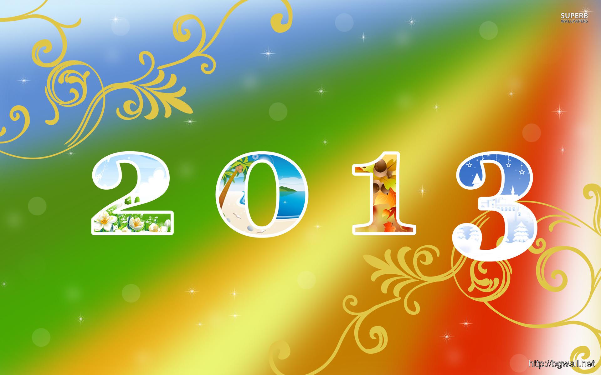 Happy New Year 2013 Wallpaper Full Size
