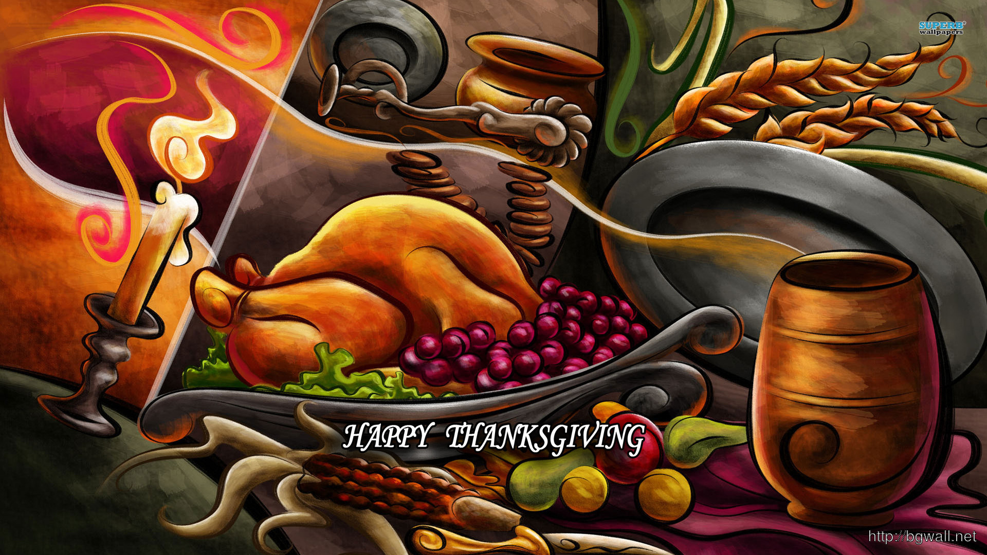 Happy Thanksgiving Wallpaper Full Size
