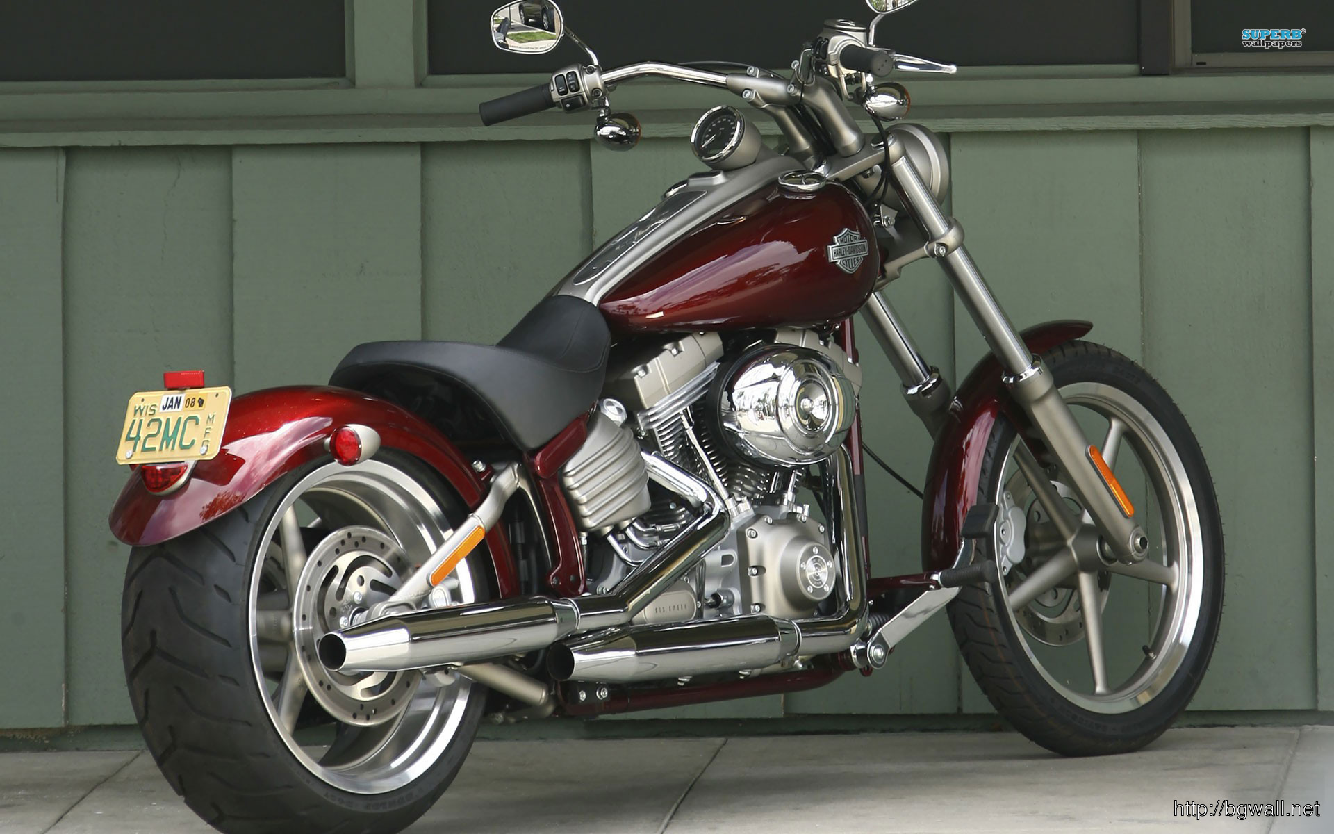 Harley Davidson Fxcwc Rocker C Wallpaper