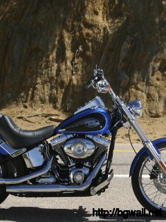 Harley Davidson Softail Custom Fxstc Wallpaper Full Size