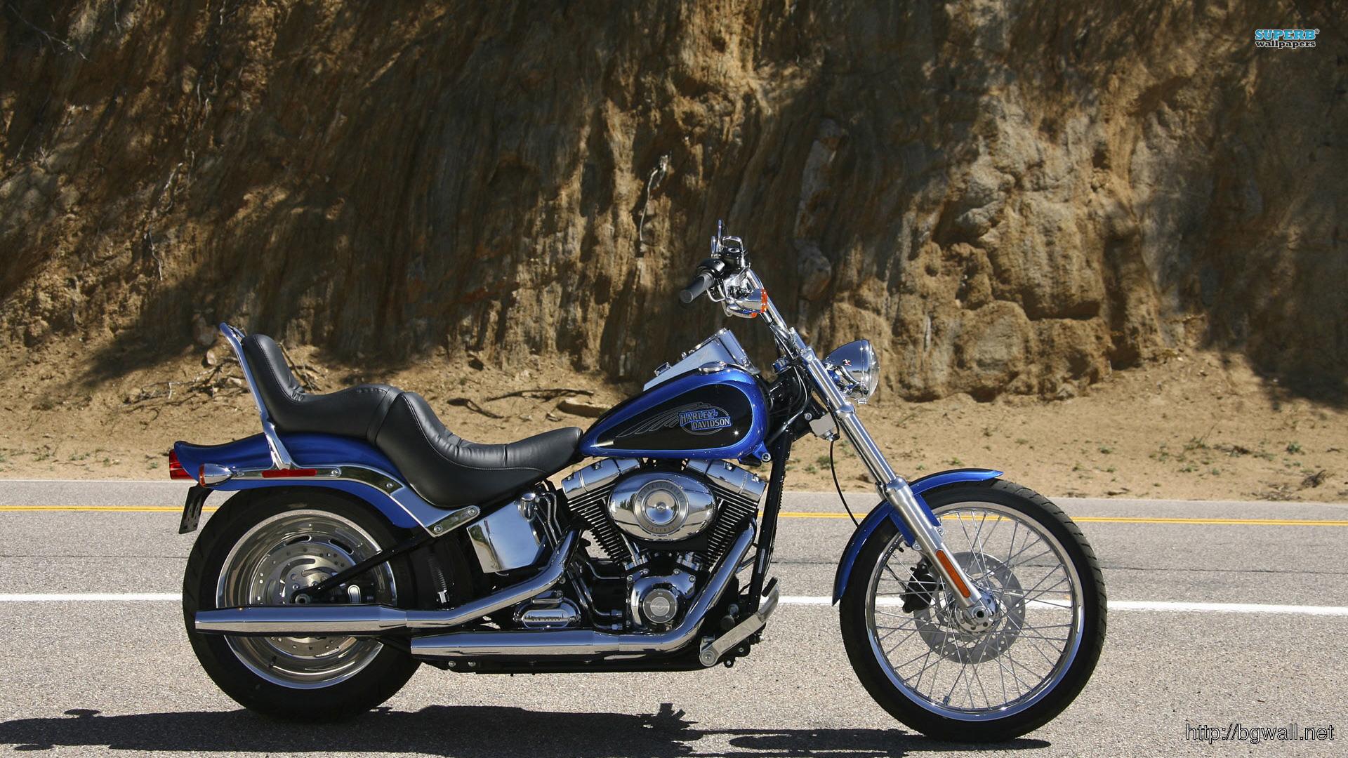 Harley Davidson Softail Custom Fxstc Wallpaper ...