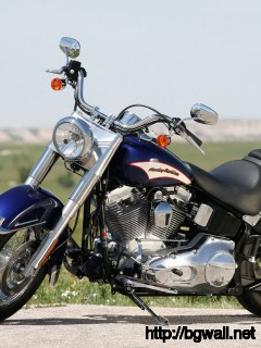 Harley Davidson Softail Wallpaper Full Size