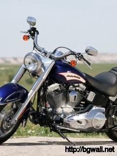 Harley Davidson Softail Wallpaper Full Size