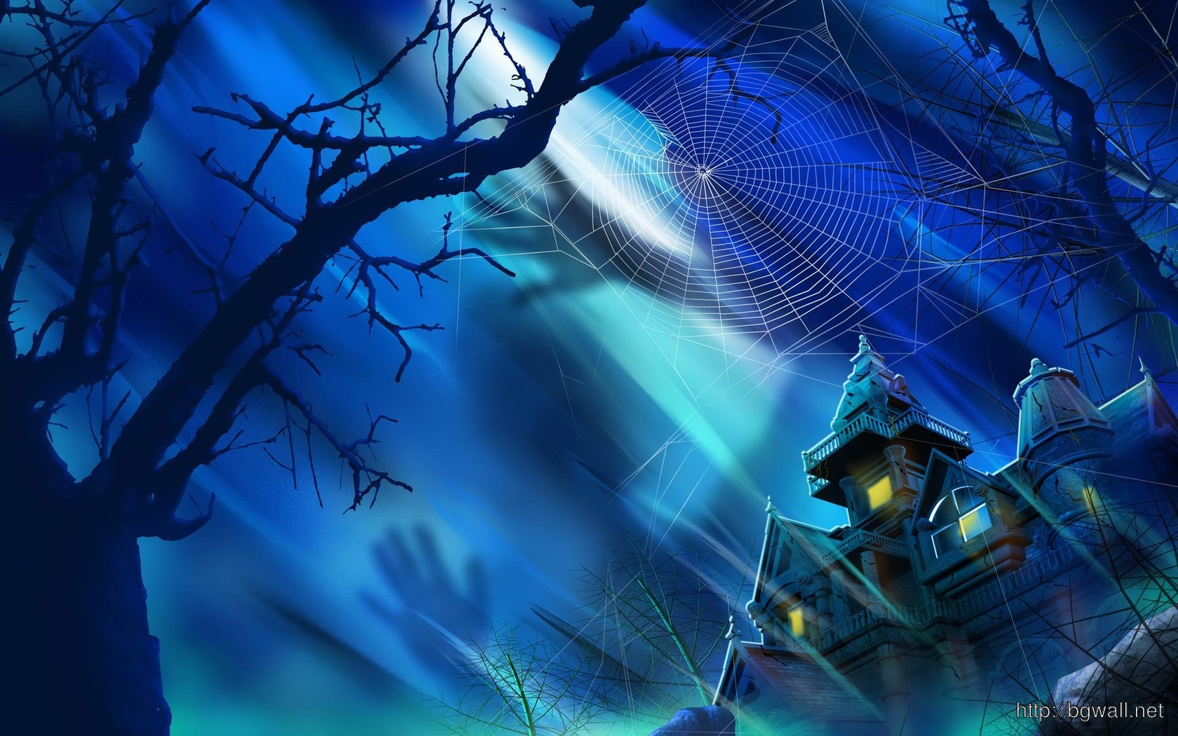 Haunted Castle Wallpaper 1001 Full Size