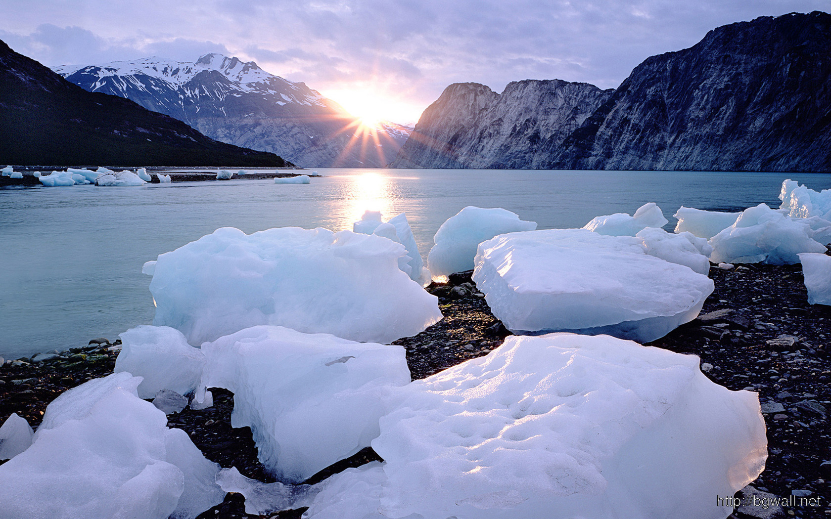Ice Blocks Wallpaper 2402