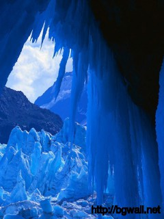 Ice Cave Wallpaper 8450 Full Size