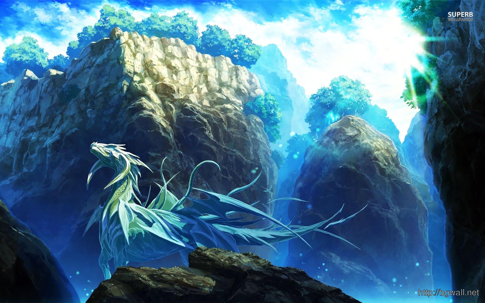 Ice Dragon Wallpaper Full Size