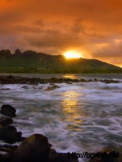 Island Seascape Kauai Hawaii Full Size