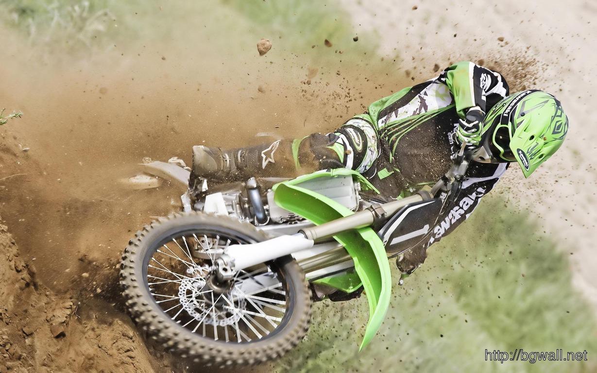 Kawasaki Dirtbike Wallpaper 1064 Full Size