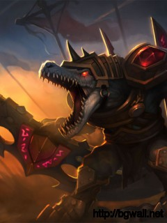 League Of Legends Rune Wars Renekton Full Size