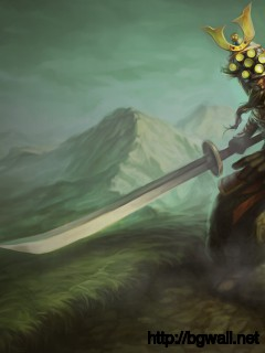 League Of Legends Samurai Master Yi Wallpaper Full Size