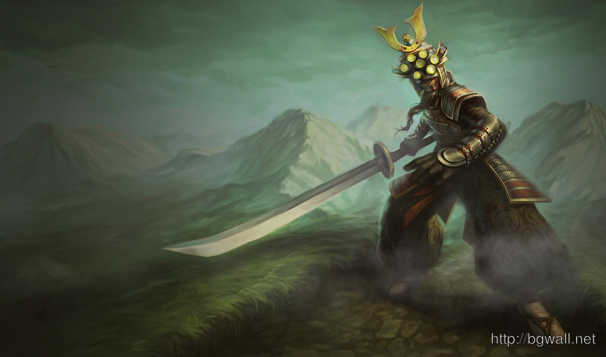 League Of Legends Samurai Master Yi Wallpaper Full Size