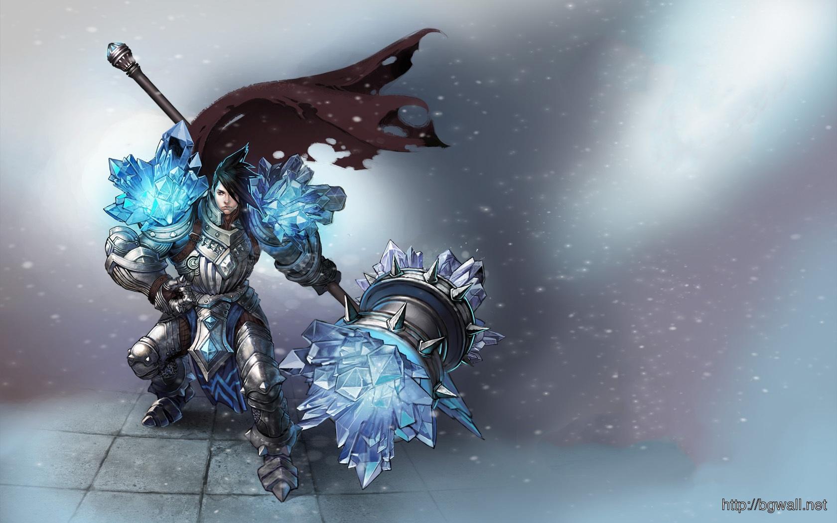 League Of Legends Taric Fanart Games Wallpaper Full Size
