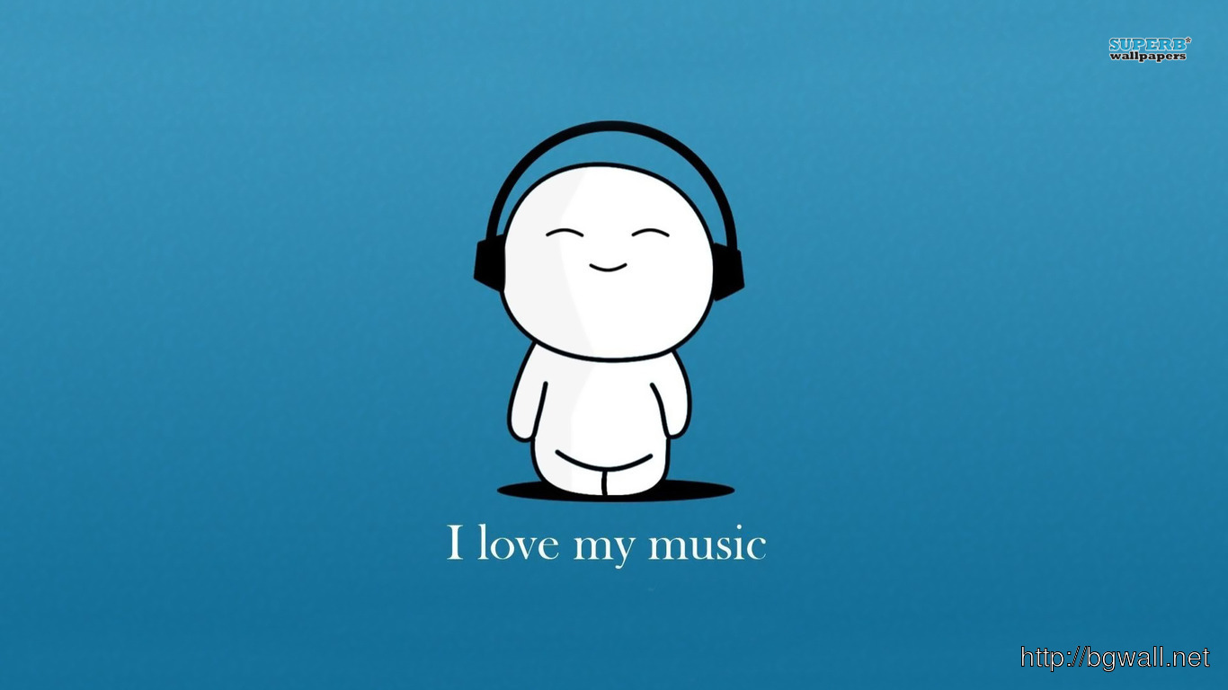 Love My Music Wallpaper
