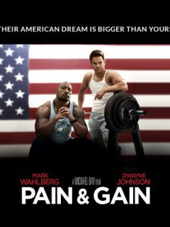 Mark Wahlberg And Dwayne Johnson In Pain Gain Wallpaper Full Size