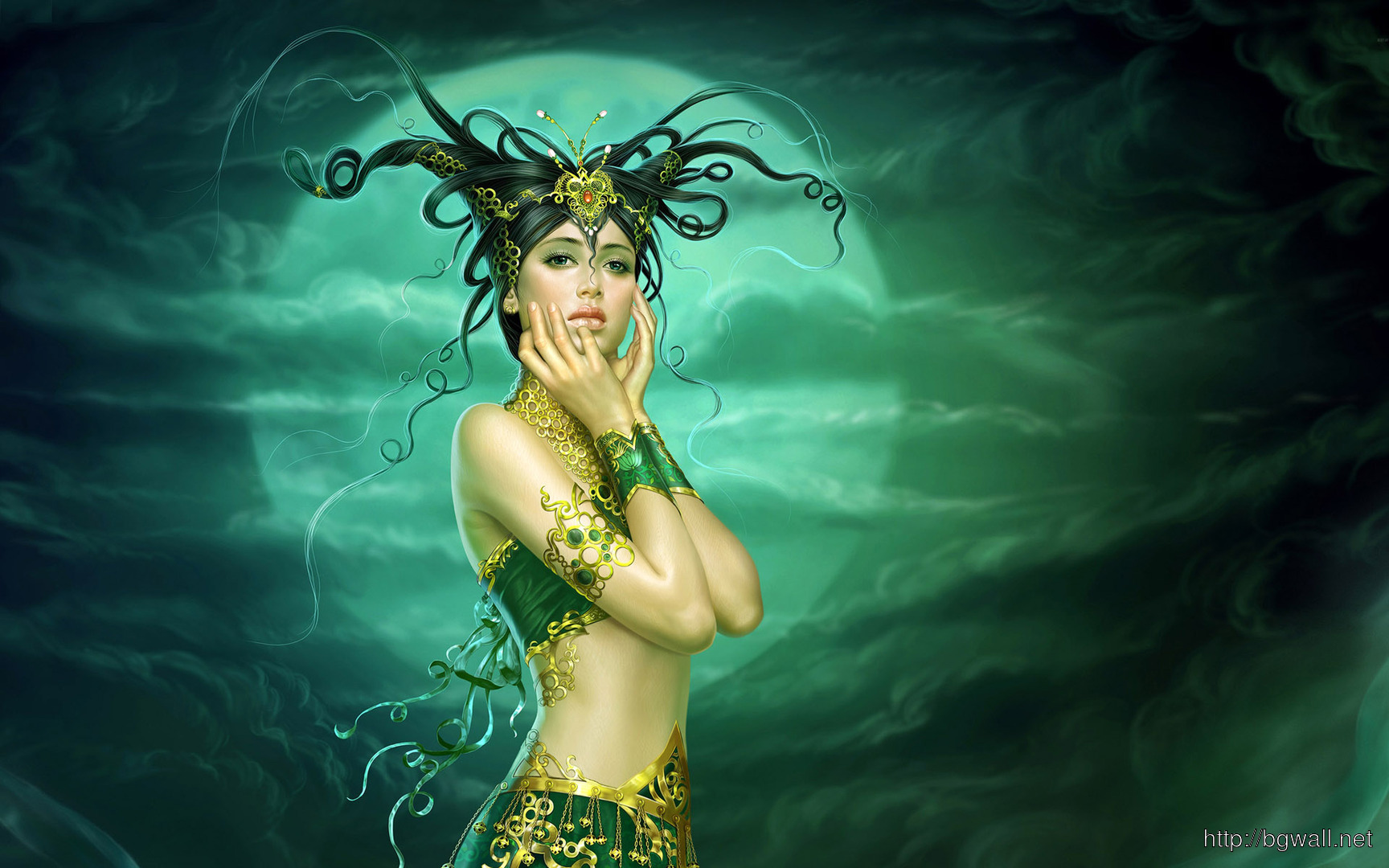 Medusa Wallpaper 7562 Full Size