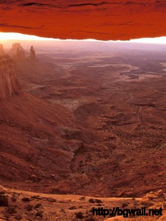 Mesa Arch At Sunrise Canyonlands National Park Full Size