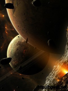 Meteors And Planets Wallpaper Full Size