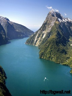Milford Sound New Zealand Wallpaper 8448 Full Size