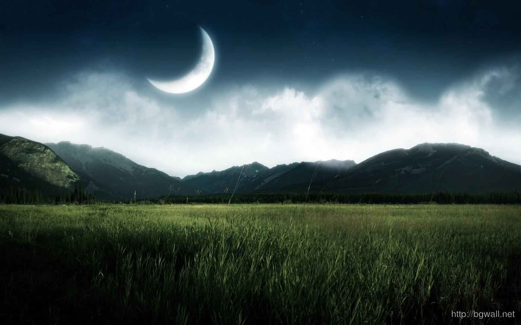Moon In The Sky Wallpaper 5372 Full Size