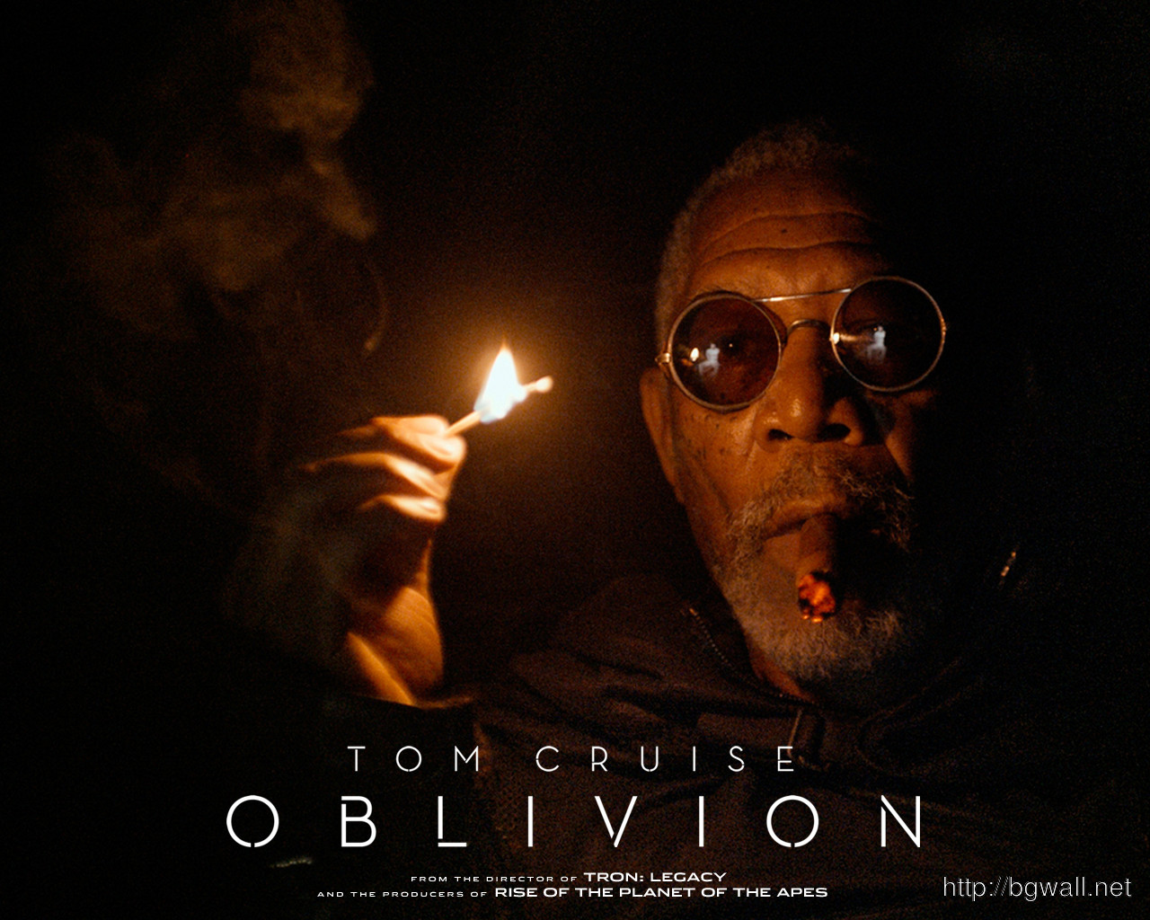 Morgan Freeman In Oblivion Wallpaper Full Size