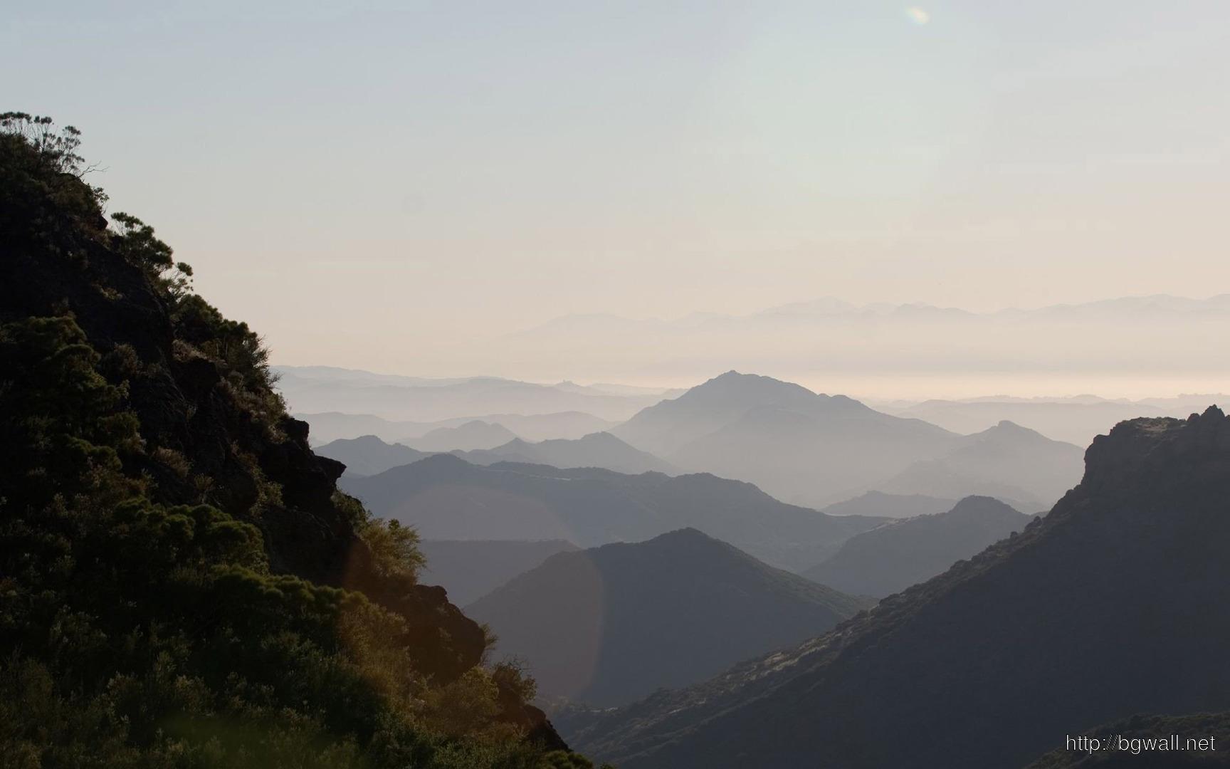 Mountain Peaks Wallpaper 3420