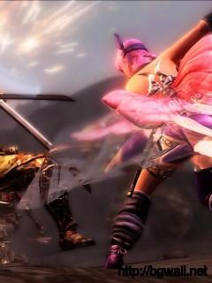 Ninja Gaiden Iii Razors Edge Samurai Battle Screen Full Size