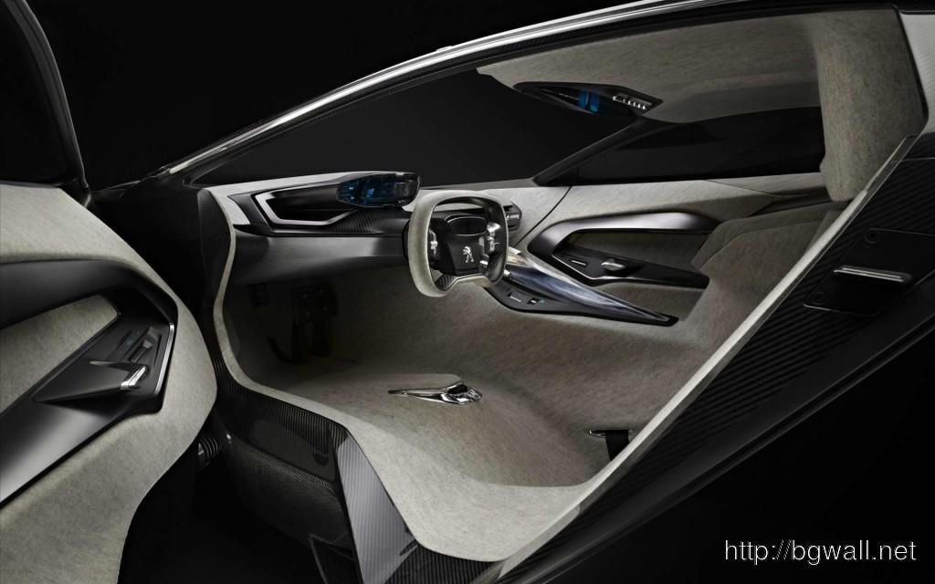 Peugeot Onyx Interior 1024x640 Peugeot Onyx Concept Full Size