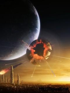 Planet Explosion Wallpaper Full Size