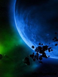 Planets And Asteroids Wallpaper Full Size