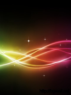 Rainbow Curve Background Full Size