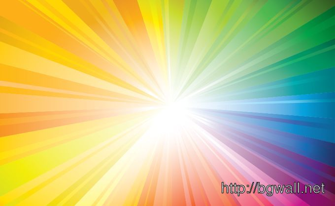 Rainbow Sunbeam Full Size