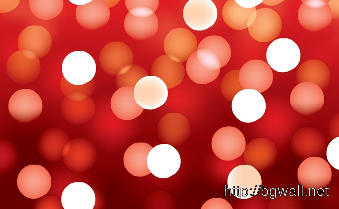 Red Bokeh Background Full Size
