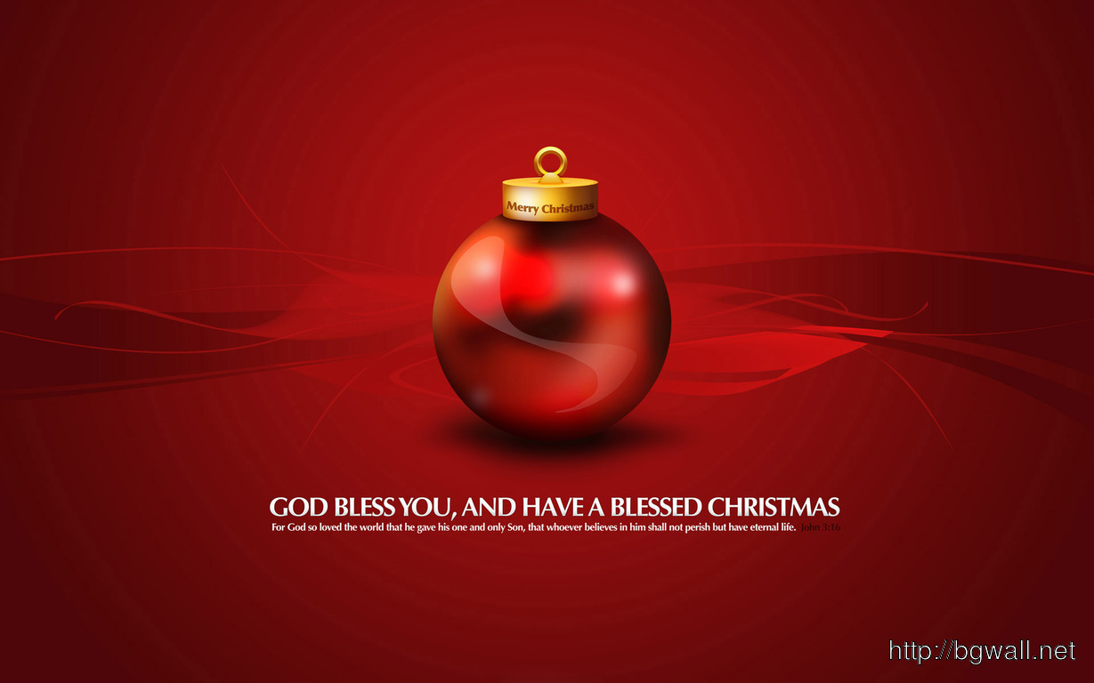 Red Christmas Globe Wallpaper 3308