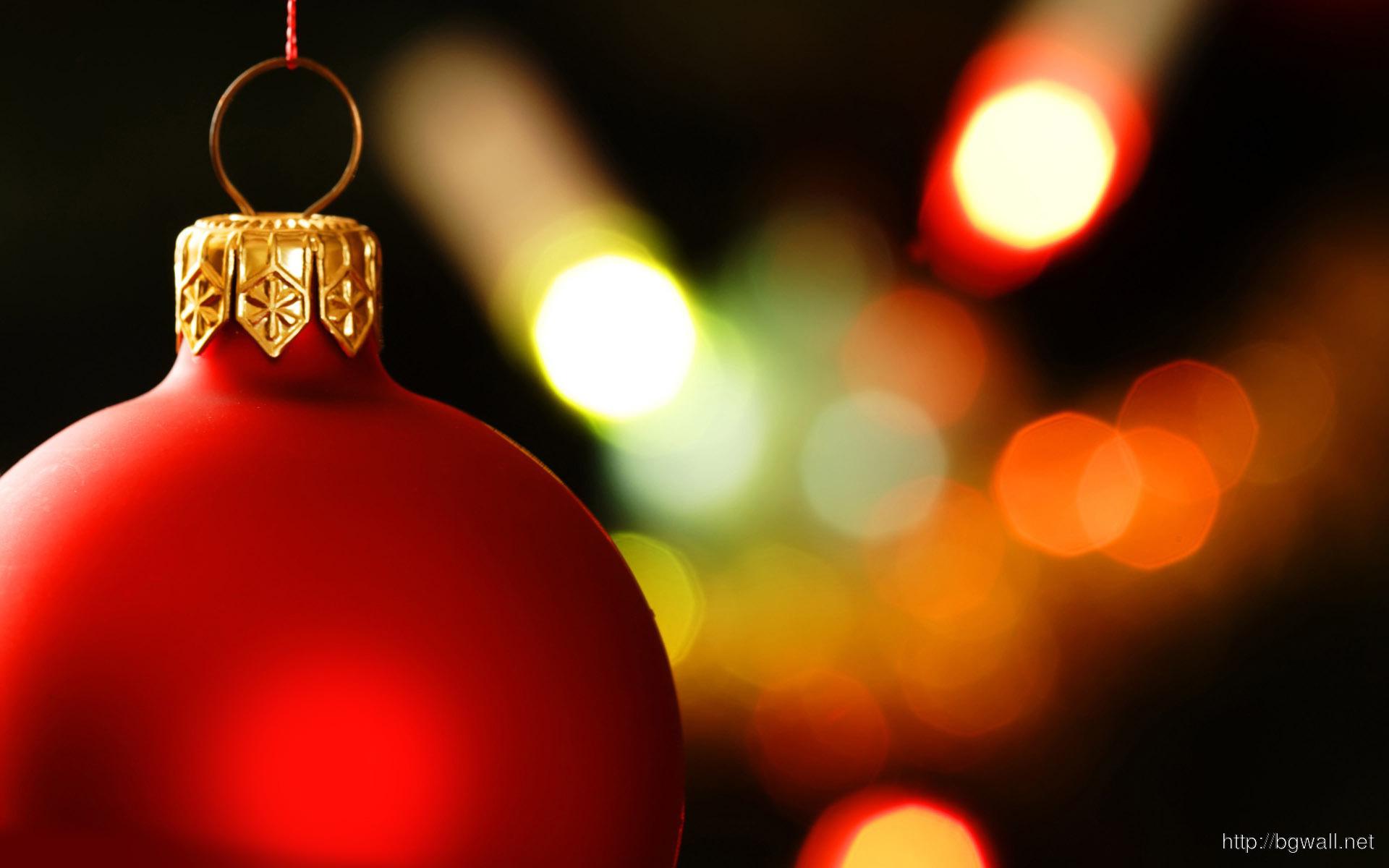 Amber Christmas Lights
