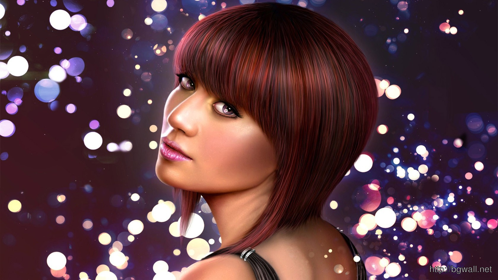 Red Haired Woman Wallpaper 3225 Full Size