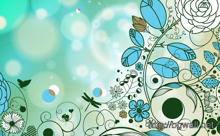 Retro Style Vector Background Full Size