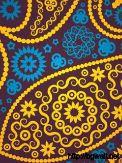 Seamless Paisley Pattern Full Size