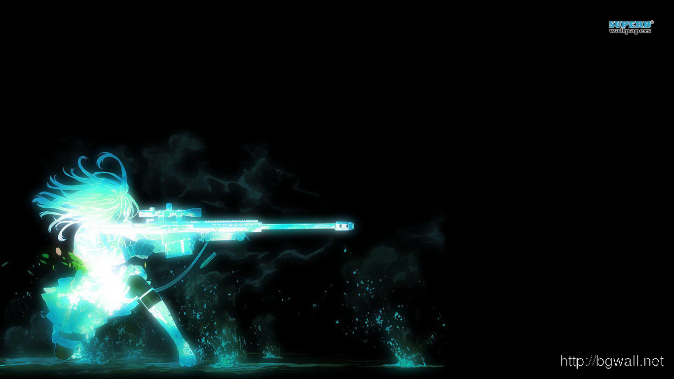 Sniper Girl Wallpaper Background Wallpaper Hd