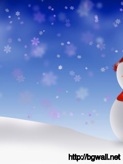 Snowman Wallpaper Full Size