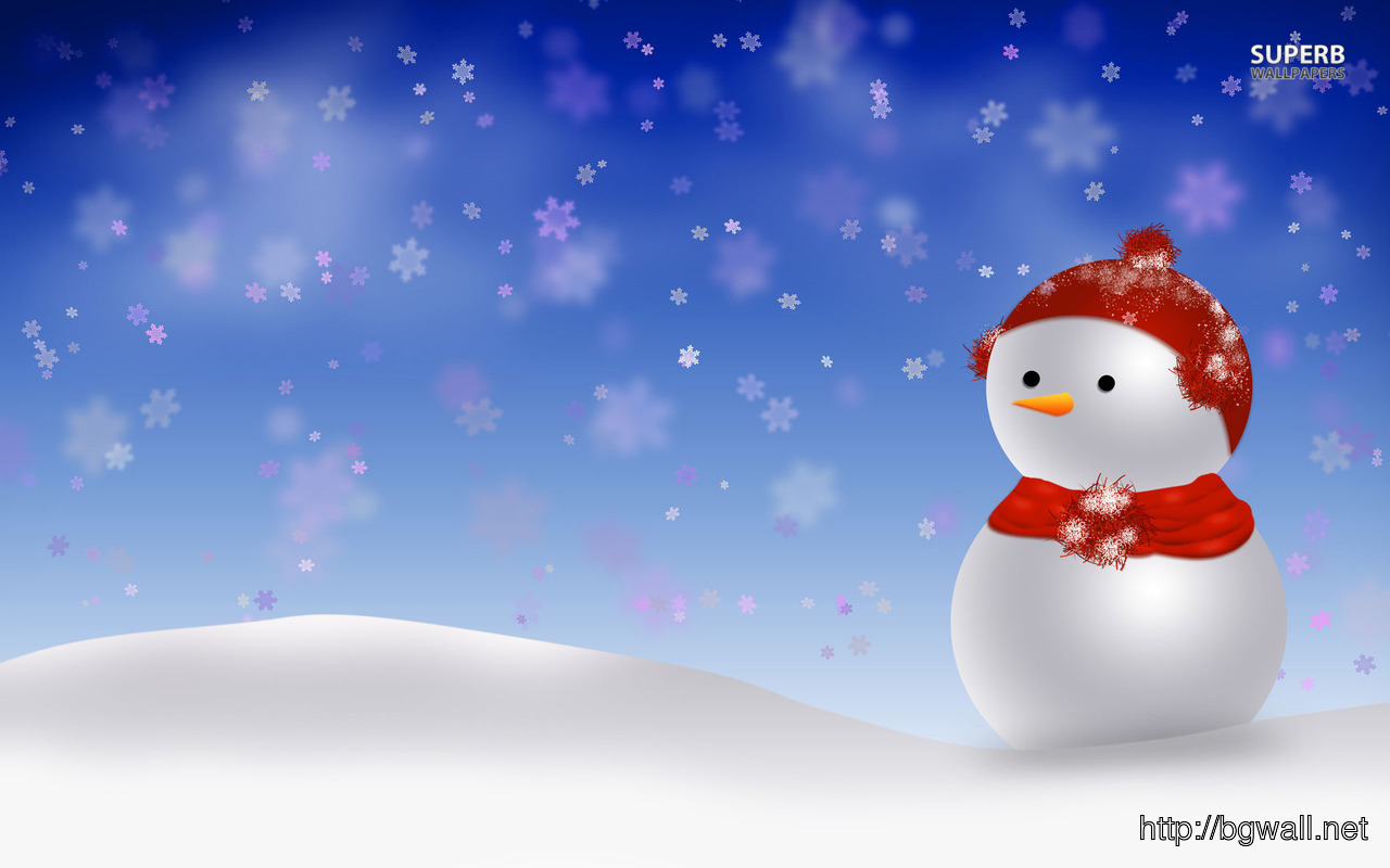 Snowman Wallpaper Full Size