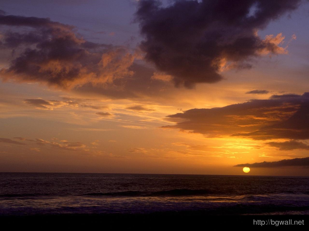 Sunset Sky Carpinteria California