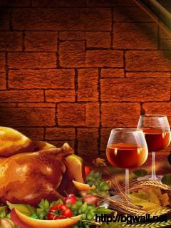 Thanksgiving Dinner Wallpaper 14065 Full Size