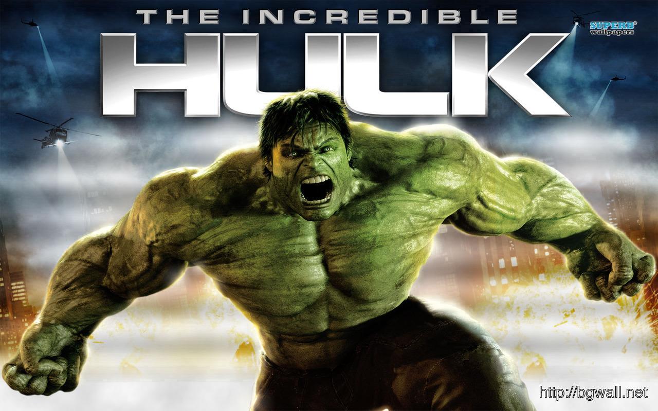 The Incredible Hulk Wallpaper Full Size