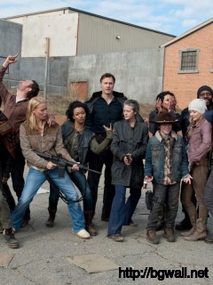 The Walking Dead Cast Wallpaper Full Size