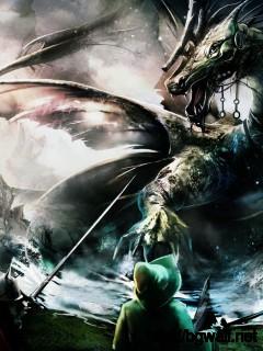 Trine Dragon Battle Hd Games Wallpapers Widescreen 1600x900 Pixel Full Size