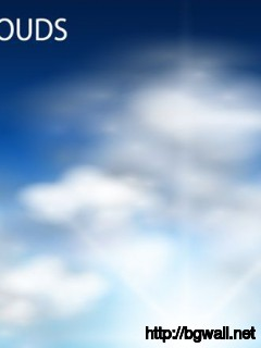 Vector Clouds Background Full Size